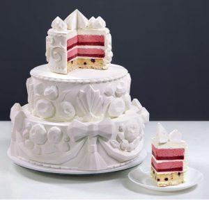 Динара Касько: Настоящее искусство для многоярусных тортов.